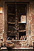 photo: Ancient Window - A window in the labyrinthine old section of Varanasi.