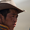 Results (Cowboys I) Photo: Rural Mongolia is a nation of horses and cowboys.  Here, cowboys await the results of a recent horse race.