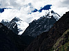 Snowcaps Photo: The Himalayas of Tibet.