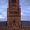 Tilted Tower Photo: The belfry at Grote Markt square.