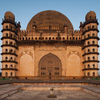 Bulbous Burial Photo: Golgumbaz, a Mughal mausoleum, burial place of emporer Mohammed Adil Shah (Archive photo, on the weekends).