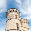 Provençale Pile Photo: A beautiful castle turret in a picturesque hilltop village.
