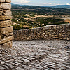 Ascending Artery Photo: A path of stone steps opens to a spectacular view to the valley below Gordes, the most beautiful village in France.