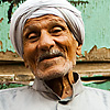 Hookah Hound Photo: A kind elderly Egyptian at a street-side cafe (ahwa) in Islamic Cairo.