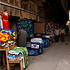Bazaar of the Tentmakers Photo: The covered Bazaar of the Tentmakers in Islamic Cairo.
