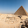 photo: Pyramid Panorama-rama - A series of user-controlled 360° panoramas of the Pyramids at Giza at various points within the necropolis.