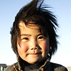 Wild Mongolia Photo: A cute Mongolian girl poses on the plains in central Mongolia (ARCHIVED PHOTO on the weekends - originally photographed 2004/10/21).