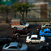 Bangkok Traffic Jam Tilt-Shift Photo: Bangkok's notorious traffic in fake tilt-shift effect.