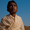 Boy Brahman Priest Photo: A young Brahman priest at the reservoir temple in Badami, India (ARCHIVED PHOTO on the weekends - originally photographed 2009/02/23).