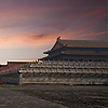 Forbidden City Sunrise Photo: The Gate of Supreme Harmony at sunrise in the Forbidden City in Beijing (ARCHIVED PHOTO on the weekends - originally photographed 2007/08/08).