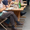 Leisurely Lunch Photo: Parisians watch the world go by as they chow down on lunch in the Latin Quarter in Paris.