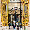 Large Little Palace (before/after) Photo: The ornate entrance to the Petit Palais, a museum in the heart of Paris.