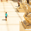 Miniature Marly Photo: Cour Marly, an atrium at the Louvre Museum that houses ancient sculptures.