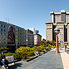 Round the Square: SF Photo: A user-controlled panorama of Union Square in San Francisco.
