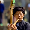 Piper Performance Photo: A traditional wooden reed instrument called a Lu Sheng used by the Miao ethnic minority of China (ARCHIVED PHOTO on the weekends - originally photographed 2007/09/15).