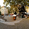 Town Threshold Photo: A user-controlled panorama of the entrance to the historic old city in Geneva.